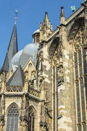 Bad Aachen on a sunny day photo