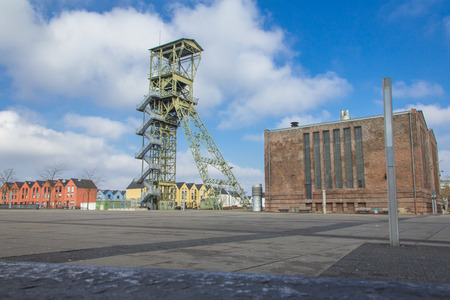 famous industries: Mining tower as a memorial in Annapark