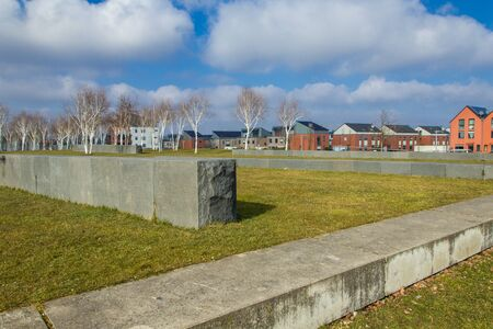 industrial park: ex industrial area converted into a park