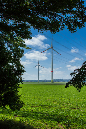 environmentally: Windmills as an environmentally friendly alternative for power generation