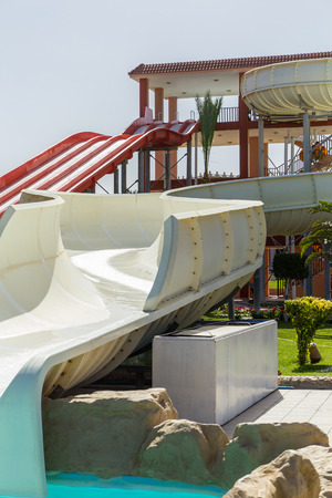 tourist resort: Water Park in popular tourist resort of Egypt