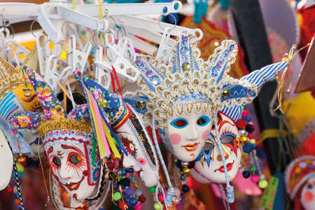 Venetian mask - a souvenir for the tourists, a copy of masks.