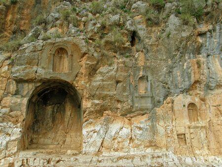 cult: Cult Center of the God Pan in Banyas, Israel