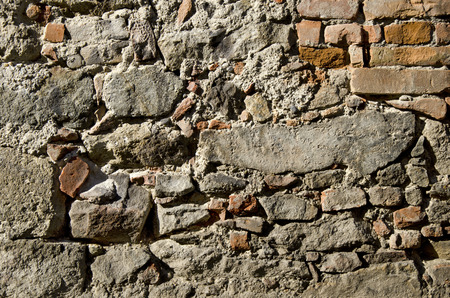 historic: The historic wall, texture