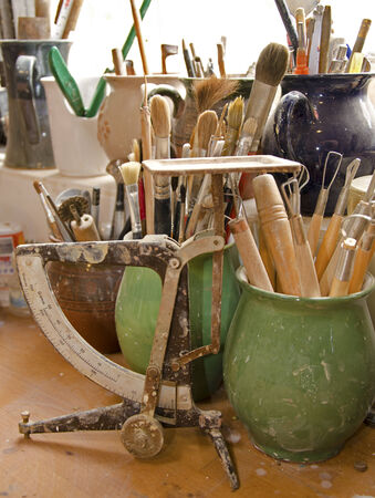 implements: The potters implements