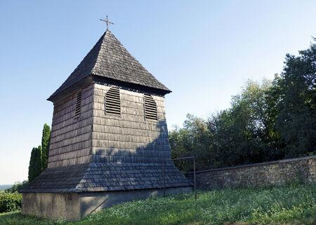 belfry: The wooden belfry