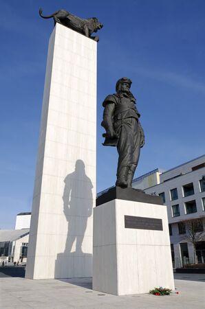 stefanik: The statue of general Milan Rastislav Stefanik Editorial