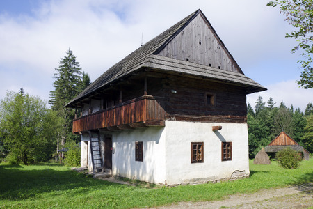 folk heritage: The wooden architecture from Kysuce region
