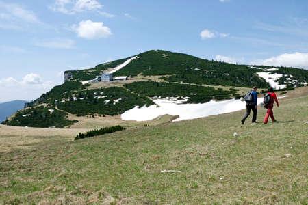 alpine hut: The mountain shelter Ottohaus the alpine hut