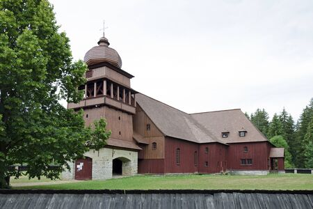 articular: The articular wooden church of the Holy Cross, Slovakia