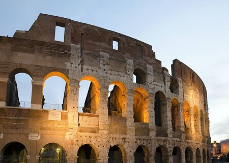 archaeologists: Colosseum, Rome, Italy
