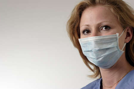 Doctor wearing a mask Stock Photo - 217035