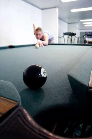 Eight ball corner pocket Stock Photo - 221832