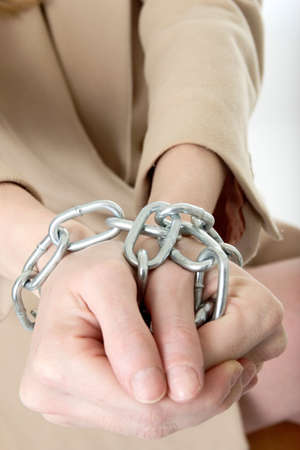 hands in chains Stock Photo - 285525