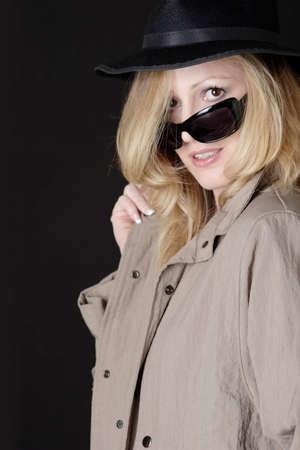 undercover: Copertura inferiore della donna Archivio Fotografico