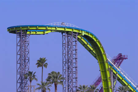 twiddle: top of a scary roller coaster