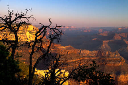 Beautiful landscape of the Grand Canyon Stock Photo