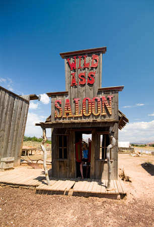 saloon: Antiguo sal�n de estilo occidental