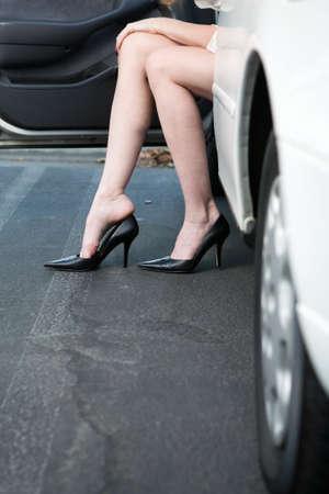 Sexy black legs and feet