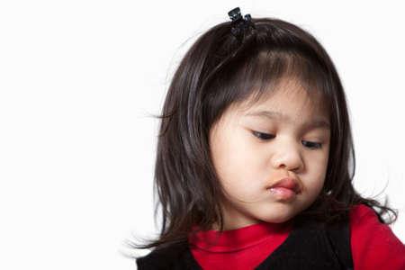 かわいいかわいい 2 歳の幼児の女の子 写真素材 - 6264155