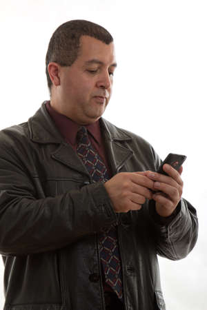 personal assistant: Attractive confident forties hispanic latin american businessman