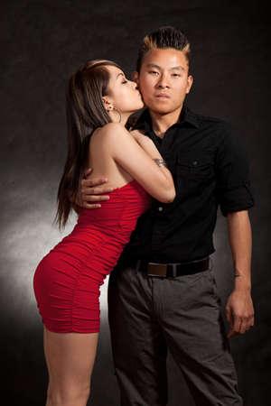 filipino adult: Young adult asian filipino couple
