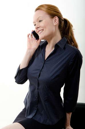 Pretty attractive brunette european caucasian twenties business woman lifestyle Stock Photo - 12068211
