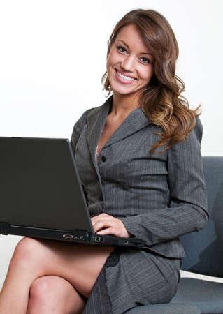 businesswoman: Pretty hispanic american businesswoman Stock Photo