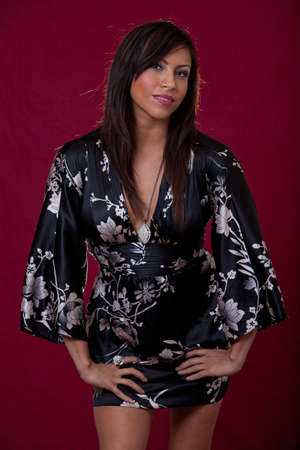 Pretty native american indian fashion woman