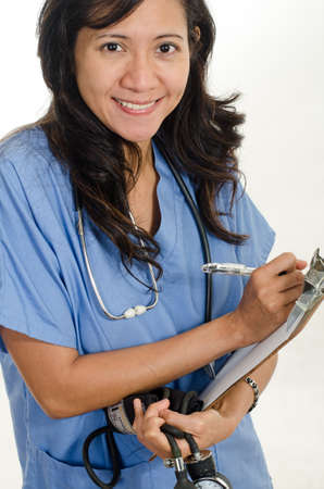 Asian american healthcare worker photo