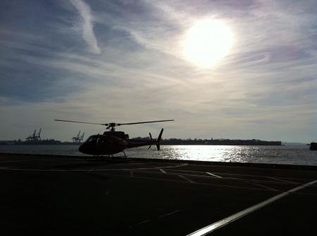 paseo: Paseo en helicoptero por manhattan  Stock Photo