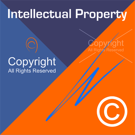 intellectual property: Intellectual Property - Copyright Illustration