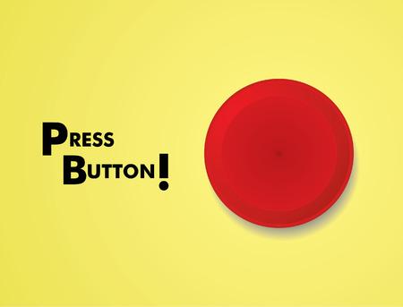 Panic Button Illustration