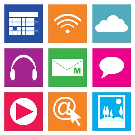 sub menu: Basic Smartphone Icon Set