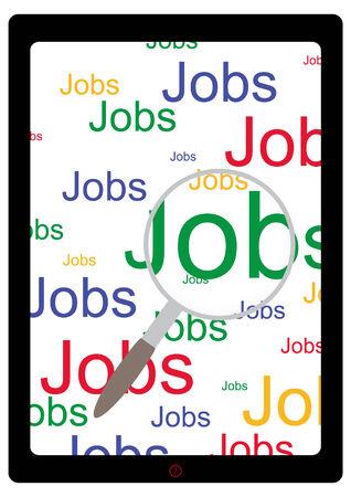 job opening: E-Job Search Monitor  loupe