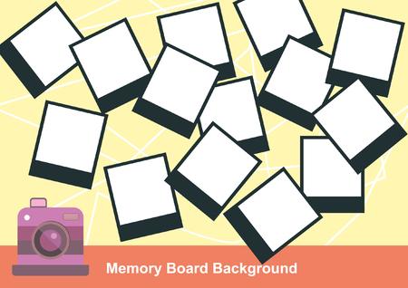 memory board: En blanco tarjeta de memoria Fotograf�a Vectores