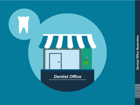 oversize: Dentist Office Illustration
