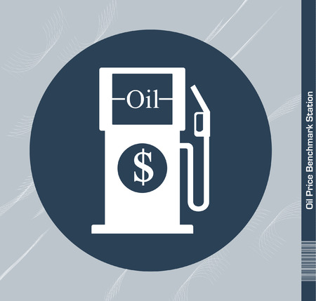 Oil Price Benchmark Station Vector