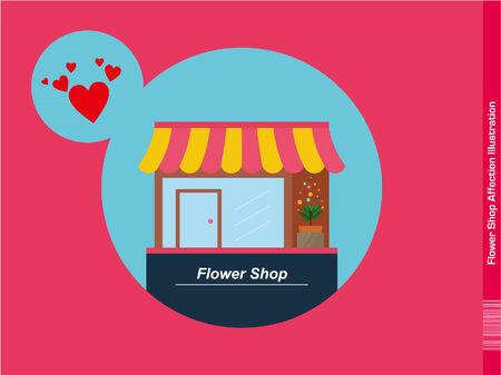 affection: Flower Shop Affection Illustration