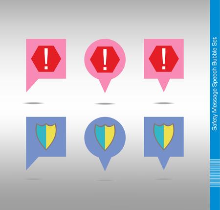antivirus: Antivirus Protection Icon Set. Notification Symbols.