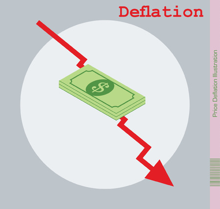 purchasing power: Deflation of Prices Illustration.