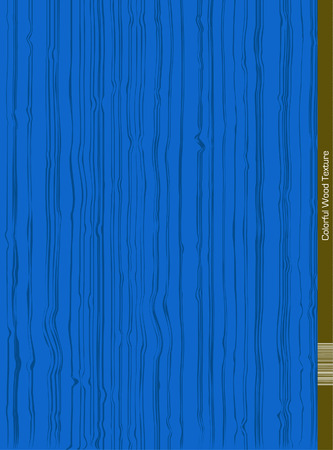 wood surface: Vector Wood Surface in Blue Color. Illustration