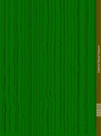 wood surface: Vector Wood Surface in green Color. Illustration