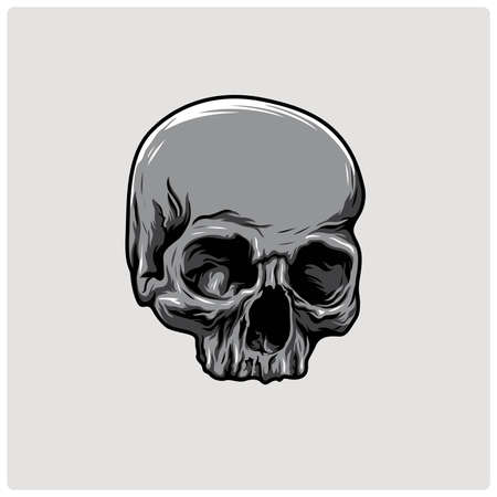 skull illustrationVector skull
