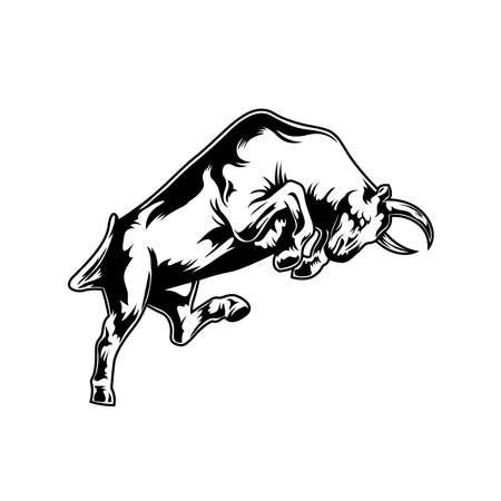 Bull Illustrations