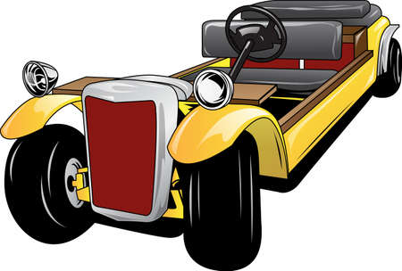 modification: illustration vector clasic car modification