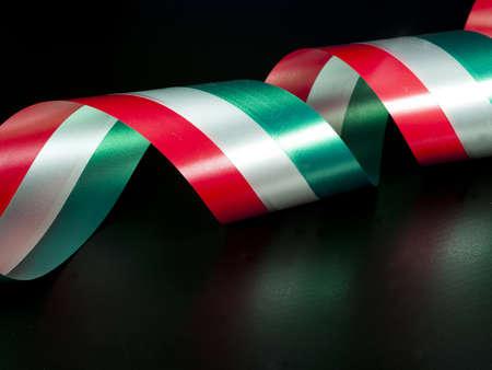 tricolor: Italian ribbon