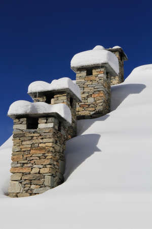 fireplaces: Fireplaces with snow