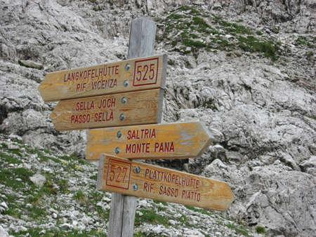 gardena: Indicazioni sentieri CAI Val Gardena