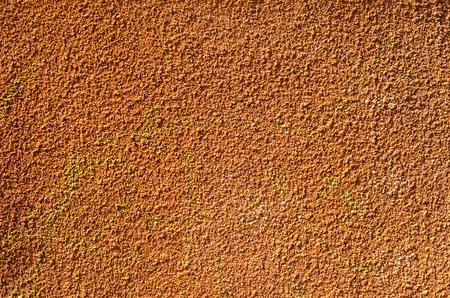 orange texture wall with orange plaster 写真素材